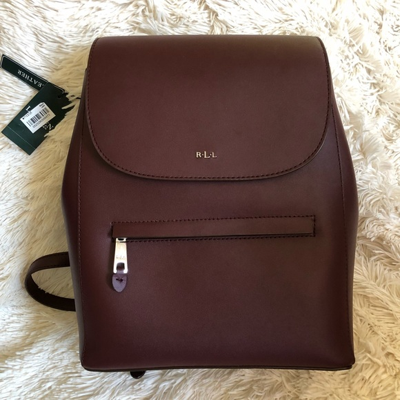 e536df2f29fd Ralph Lauren Dryden Ellen Backpack -Port falcon